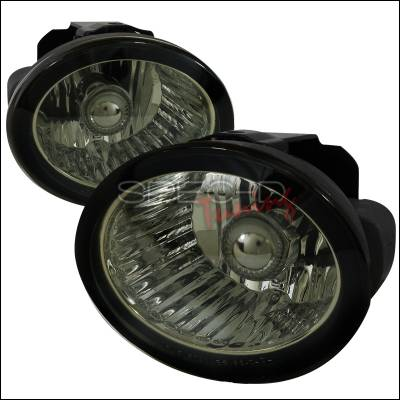 Spec-D - Nissan Altima Spec-D Fog Light Kit - Smoke Lens - LF-ALT02GOEM-APC