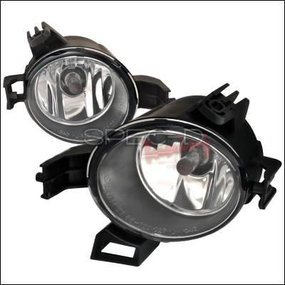 Spec-D - Nissan Altima Spec-D OEM Style Fog Lights - Clear - LF-ALT06COEM-APC