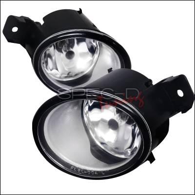 Spec-D - Nissan Altima Spec-D Fog Light Kit - Clear Lens - LF-ALT06COEM-HZ