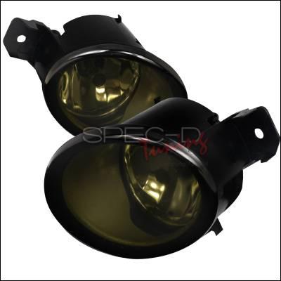 Spec-D - Nissan Altima Spec-D Fog Light Kit - Smoke Lens - LF-ALT06GOEM-HZ