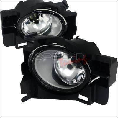 Spec-D - Nissan Altima Spec-D Fog Light Kit - Clear Lens - LF-ALT08COEM-HZ
