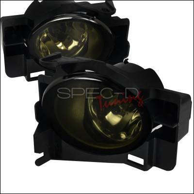 Spec-D - Nissan Altima Spec-D Fog Light Kit - Smoke Lens - LF-ALT08GOEM-HZ