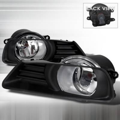 Spec-D - Toyota Camry Spec-D OEM Fog Lights - Clear - LF-CAM07OEM
