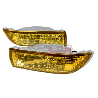 Spec-D - Toyota Corolla Spec-D OEM Fog Lights - Yellow - LF-COR03AMOEM