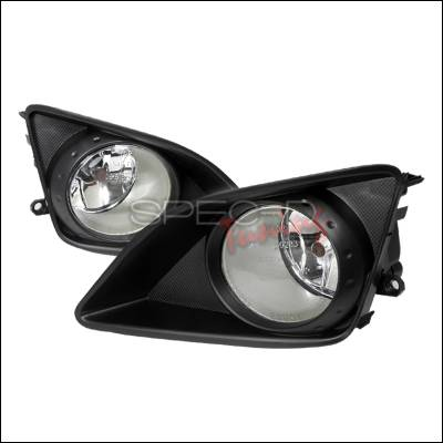Spec-D - Toyota Corolla Spec-D Fog Lights - Clear - LF-COR07OEM