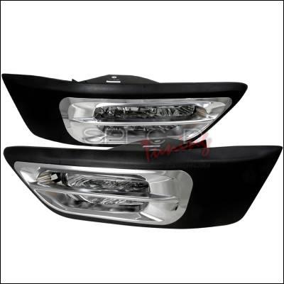 Spec-D - Honda CRV Spec-D OEM Fog Lights - Clear - LF-CRV02COEM-WJ