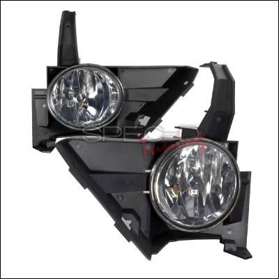 Spec-D - Honda CRV Spec-D OEM Fog Lights - Smoke - LF-CRV05G-WJ