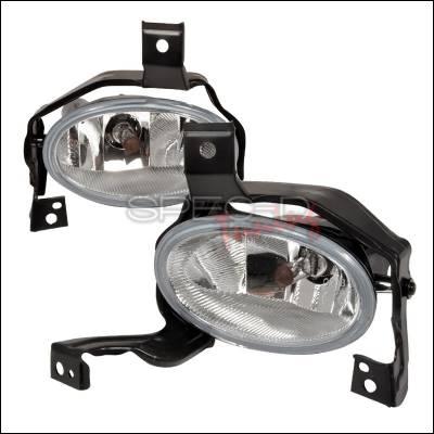 Spec-D - Honda CRV Spec-D OEM Style Fog Lights with Chrome Cover - LF-CRV10OEM