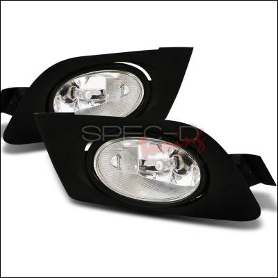 Spec-D - Honda Civic Spec-D OEM Fog Lights - Clear - LF-CV01OEM-RS