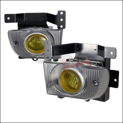 Spec-D - Honda Civic HB Spec-D OEM Fog Lights - Yellow - LF-CV924AMOEM