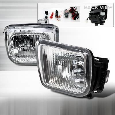 Spec-D - Honda Civic Spec-D Fog Lights - Clear - LF-CV96COEM