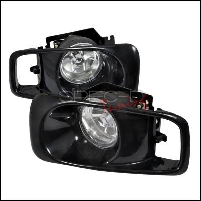 Spec-D - Honda Civic Spec-D OEM Fog Lights - Clear - LF-CV99OEM