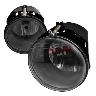 Spec-D - Dodge Dakota Spec-D OEM Style Fog Lights - Smoke - LF-DAK05GOEM-APC
