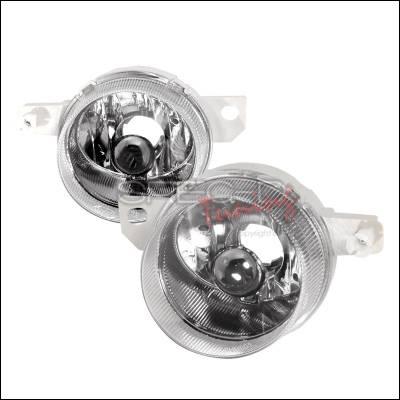 Spec-D - Honda Del Sol Spec-D OEM Style Fog Lights - Clear - LF-DEL93-ABM
