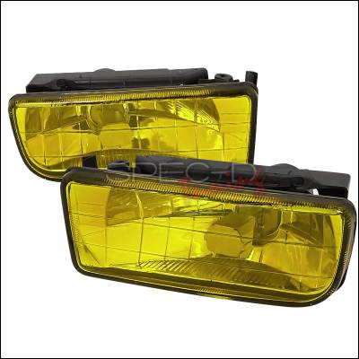 Spec-D - BMW 3 Series Spec-D Fog Lights - Yellow - LF-E3692AM-GD