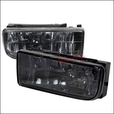Spec-D - BMW 3 Series Spec-D Crystal Fog Lights - Smoke - LF-E3692G