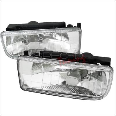 Spec-D - BMW 3 Series Spec-D Fog Lights - Clear - LF-E3692-GD