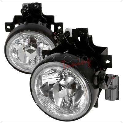 Spec-D - Honda Element Spec-D OEM Fog Lights - Clear - LF-ELM05COEM-WJ