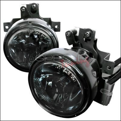 Spec-D - Honda Element Spec-D OEM Fog Lights - Smoke - LF-ELM05GOEM-WJ