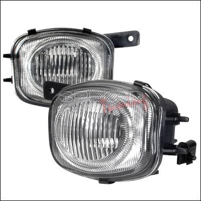 Spec-D - Mitsubishi Eclipse Spec-D OEM Fog Lights - Clear - LF-ELP00-WJ