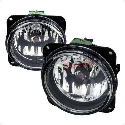 Spec-D - Ford Focus Spec-D Fog Lights - Clear - LF-FOC00COEM-APC