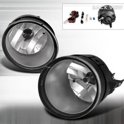 Spec-D - Nissan Frontier Spec-D Fog Light - Clear - LF-FRO04COEM-APC