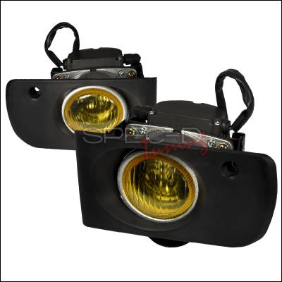 Spec-D - Acura Integra Spec-D OEM Style Fog Lights - Yellow - LF-INT94AMOEM