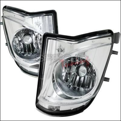 Spec-D - Lexus IS Spec-D Fog Light Kit - Clear Lens - LF-IS25006COEM-APC