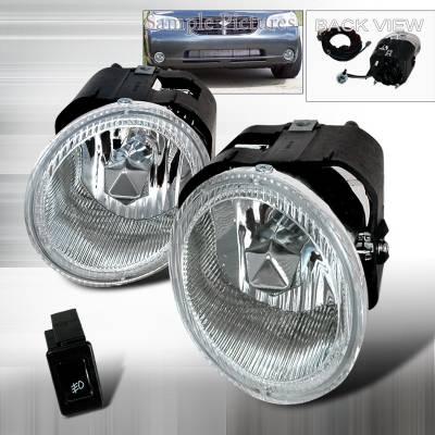 Spec-D - Nissan Maxima Spec-D Fog Lights - Clear - LF-MAX00OEM