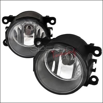 Spec-D - Ford Focus Spec-D OEM Style Fog Lights - Clear - LF-MST05COEM-APC
