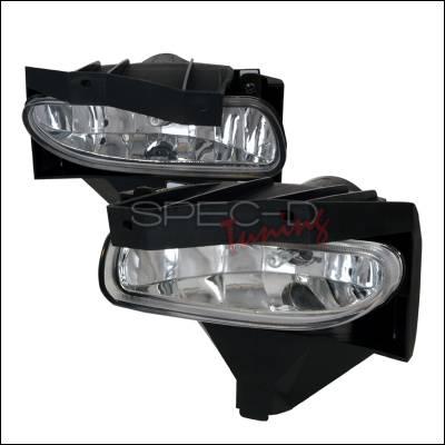 Spec-D - Ford Mustang Spec-D Fog Lights - Clear - LF-MST99C-WJ