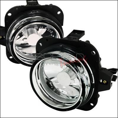 Spec-D - Mazda Miata Spec-D Fog Light Kit - Clear Lens - LF-MX501COEM-APC