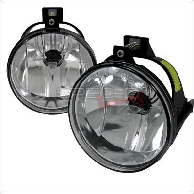 Spec-D - Dodge Neon Spec-D Fog Lights - Clear - LF-NEO03COEM-APC