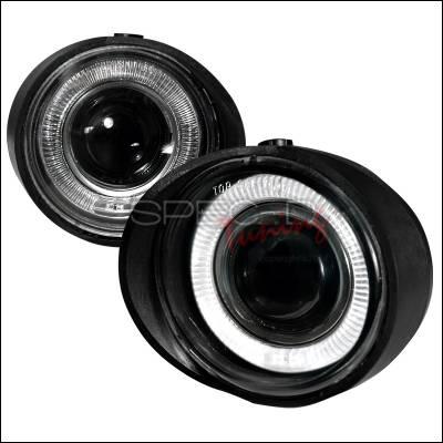Spec-D - Nissan Altima Spec-D Halo Projector Fog Lights - Clear - LFP-ALT02H-WJ