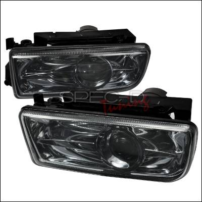 Spec-D - BMW 3 Series Spec-D Projector Fog Lights - Smoke - LFP-E3692G