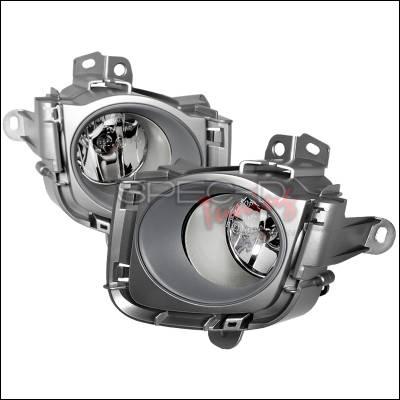 Spec-D - Toyota Prius Spec-D OEM Style Fog Light - Clear - LF-PUS09OEM