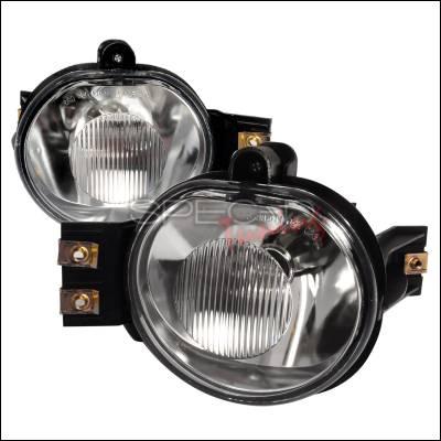 Spec-D - Dodge Ram Spec-D OEM Style Fog Light - Clear - LF-RAM02COEM-APC