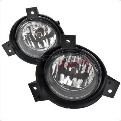 Spec-D - Ford Ranger Spec-D OEM Style Fog Lights - Clear - LF-RAN01COEM-APC
