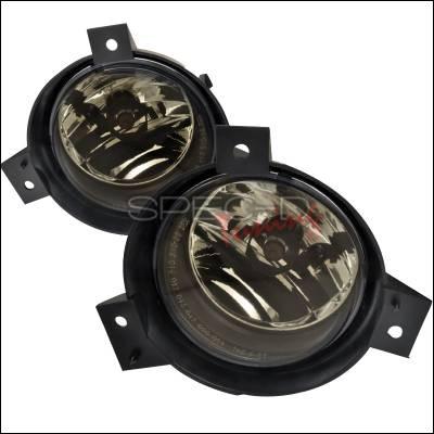 Spec-D - Ford Ranger Spec-D OEM Style Fog Lights - Smoke - LF-RAN01GOEM-APC