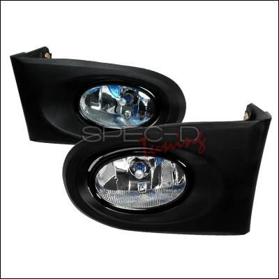 Spec-D - Acura RSX Spec-D OEM Style Fog Lights - Clear - LF-RSX02OEM
