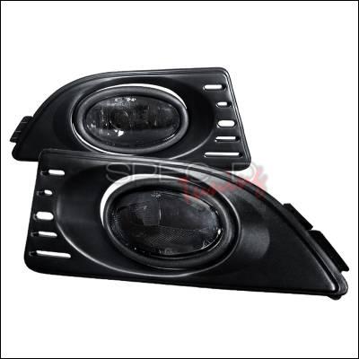 Spec-D - Acura RSX Spec-D OEM Style Fog Lights - Smoke - LF-RSX06GOEM