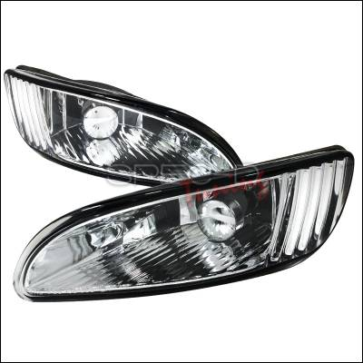 Spec-D - Lexus RX330 Spec-D Fog Light Kit - Clear Lens - LF-RX33004COEM-APC