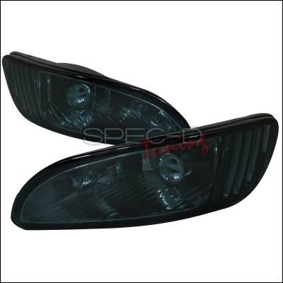 Spec-D - Lexus RX330 Spec-D Fog Light Kit - Smoke Lens - LF-RX33004GOEM-APC