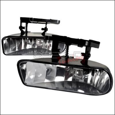Spec-D - GMC Sierra Spec-D OEM Fog Light - Clear - LF-SIE99COEM-APC