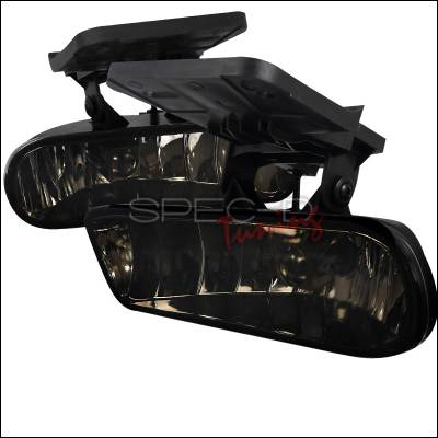 Spec-D - GMC Sierra Spec-D Fog Light Kit - Smoke Lens - LF-SIE99GOEM-HZ