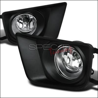 Spec-D - Toyota Tacoma Spec-D OEM Foglights - Clear - LF-TAC12COEM-HZ