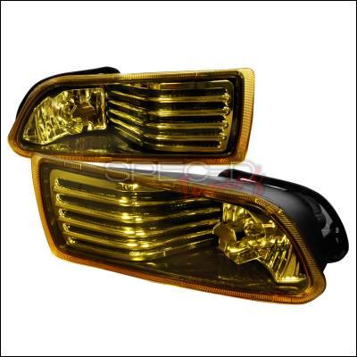 Spec-D - Scion tC Spec-D OEM Fog Lights - Yellow - LF-TC05AM-WJ