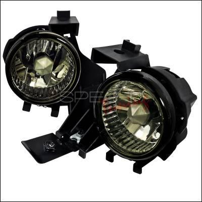Spec-D - Subaru WRX Spec-D OEM Fog Light - Smoke - LF-WRX08GOEM-APC