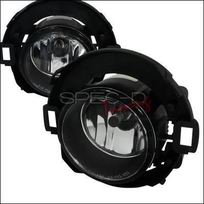 Spec-D - Nissan Xterra Spec-D Fog Light Kit - Clear Lens - LF-XTE05COEM-APC