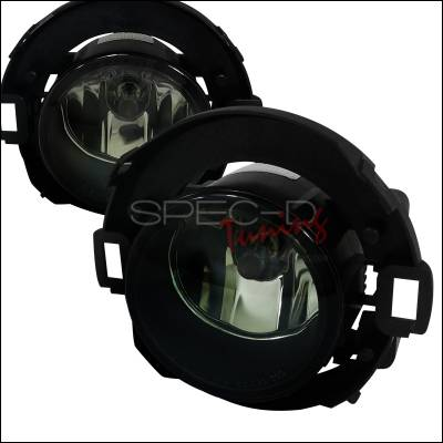 Spec-D - Nissan Xterra Spec-D Fog Light Kit - Smoke Lens - LF-XTE05GOEM-APC